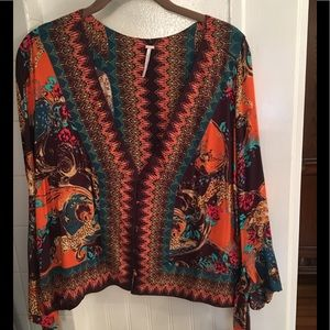 Free People Multi-color Top